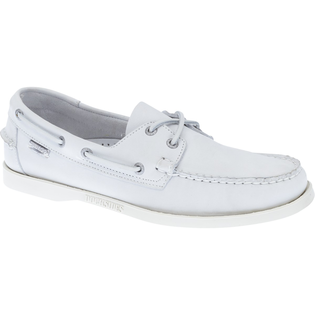 B720242 DOCKSIDES Homme WHITE NBK-70TH