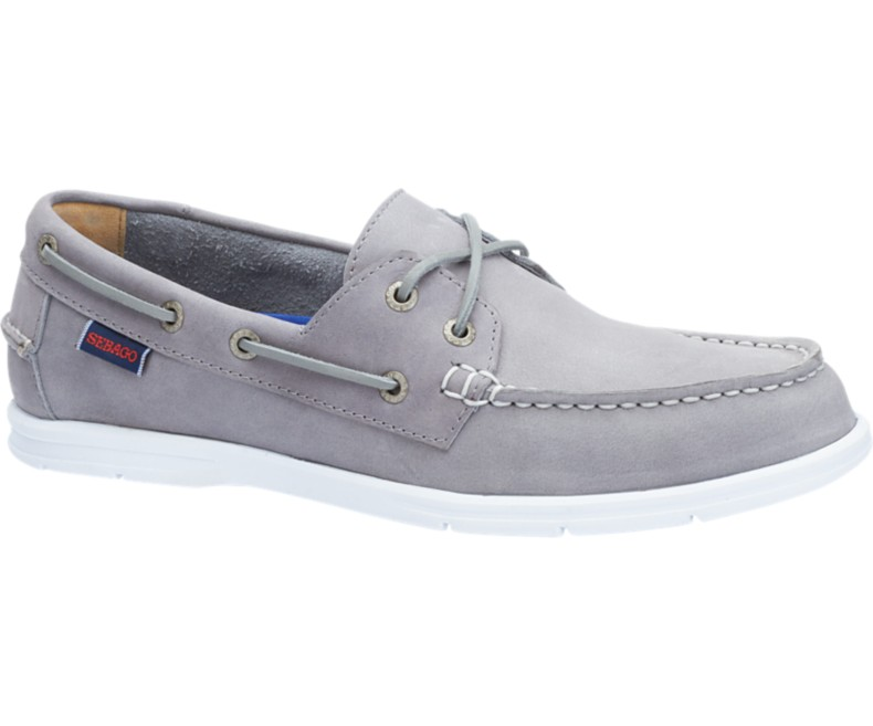B864059 LITESIDES TWO EYE Chaussures Bateau Grey Leather de SEBAGO.jpg