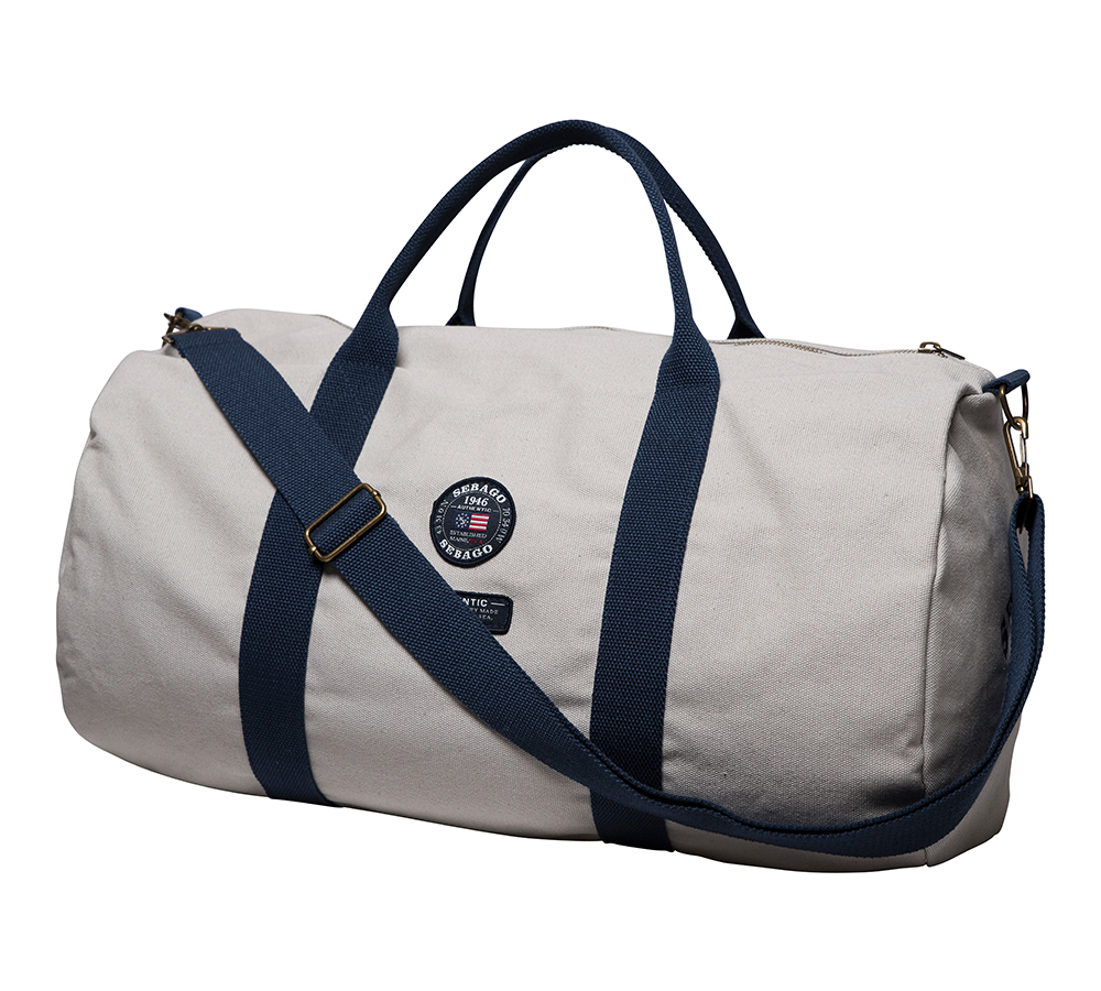 SA1853 PORT CANVAS Duffle Bag 50x24x23 Light Sand de SEBAGO