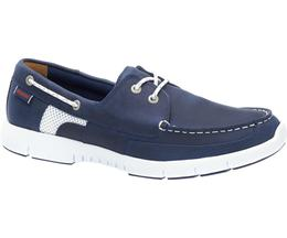 B130237 KINSLEY TWO EYE Chaussures Homme Navy Leather de SEBAGO