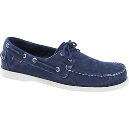 B500202 Docksides NAVY CANVAS de SEBAGO
