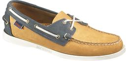 B720052 Spinnaker Golden Tan Navy de Sebago