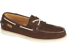 B720168 CREST DOCKSIDES Dark Brown mocassins Homme de SEBAGO