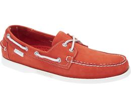 B720239 DOCKSIDES Homme ORANGE NBK-70TH