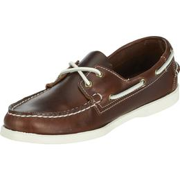 B720243 DOCKSIDES LEATHER Homme  Brown Oiled Waxy de SEBAGO2